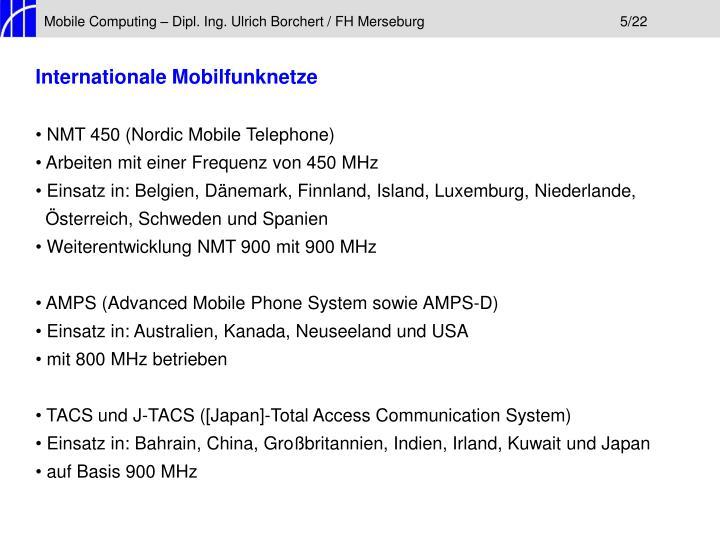 Mobile Computing – Dipl. Ing. Ulrich Borchert / FH Merseburg5/22