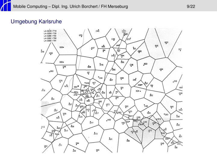 Mobile Computing – Dipl. Ing. Ulrich Borchert / FH Merseburg9/22
