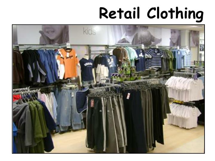 Retail Clothing