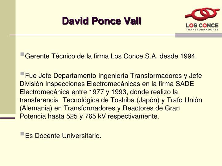 David Ponce Vall