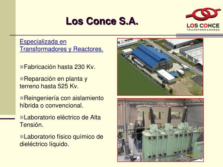 Los Conce S.A.