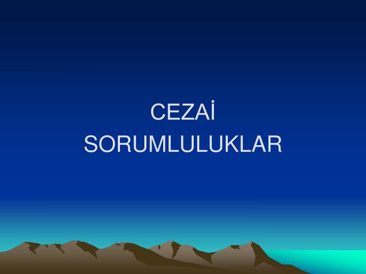 CEZAİ