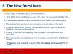 6 the new rural iowa