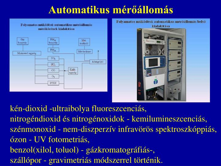 Automatikus mérőállomás