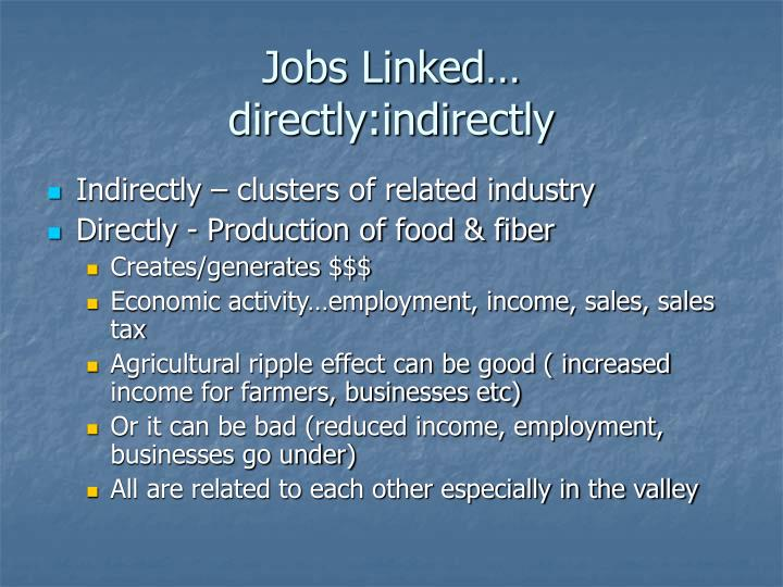 Jobs Linked…