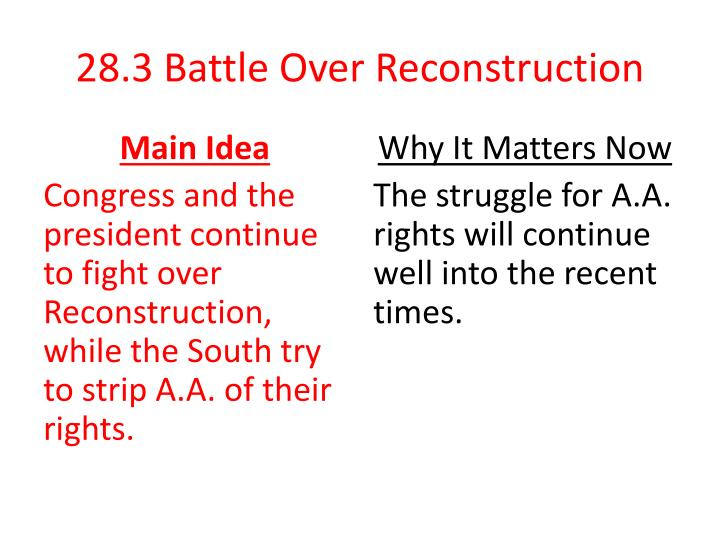 28 3 battle over reconstruction