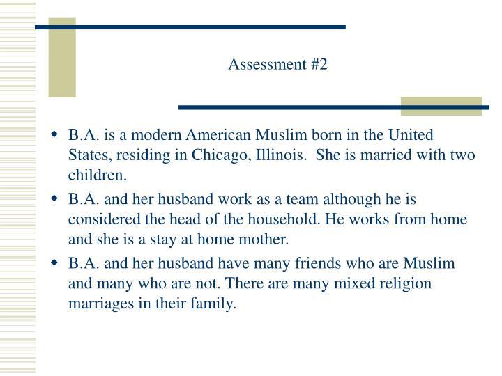 Assessment #2