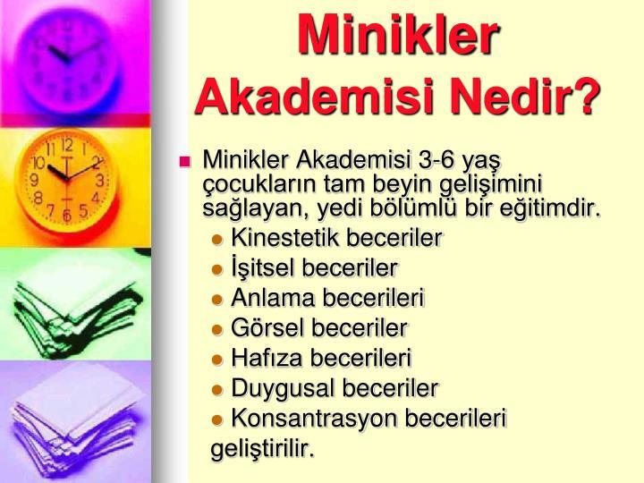 Minikler