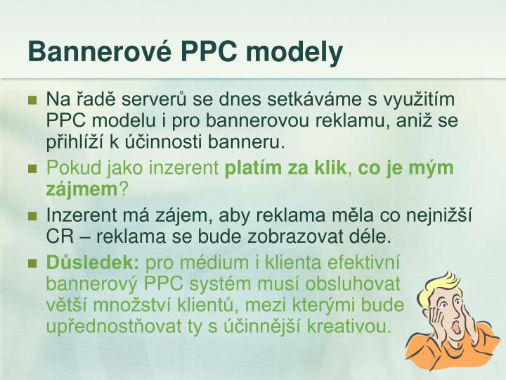 Bannerové PPC modely