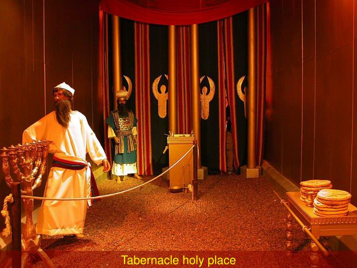 Tabernacle holy place