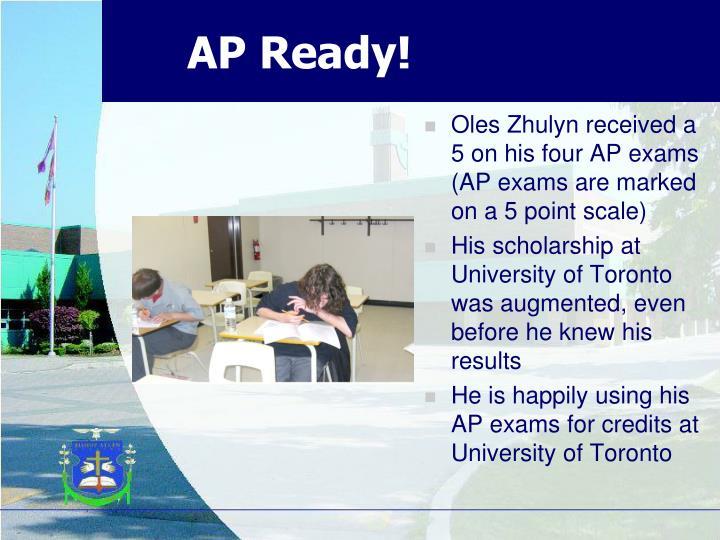 AP Ready!