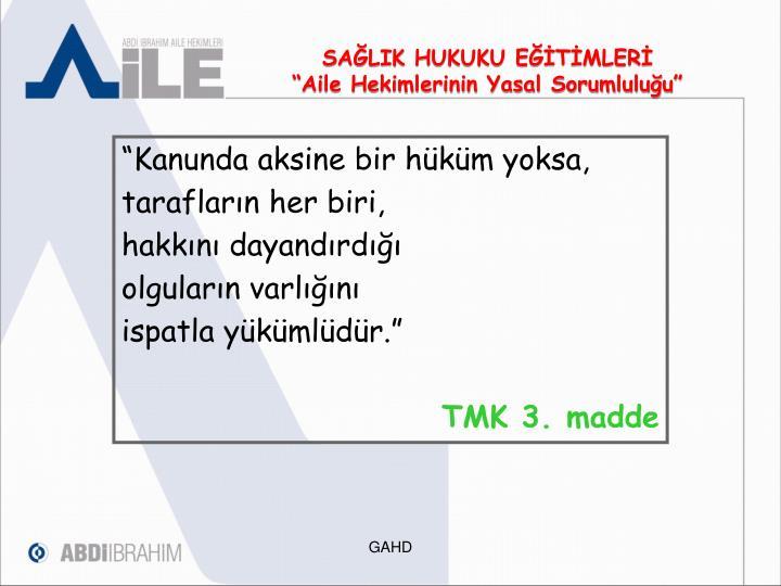 SAĞLIK HUKUKU EĞİTİMLERİ