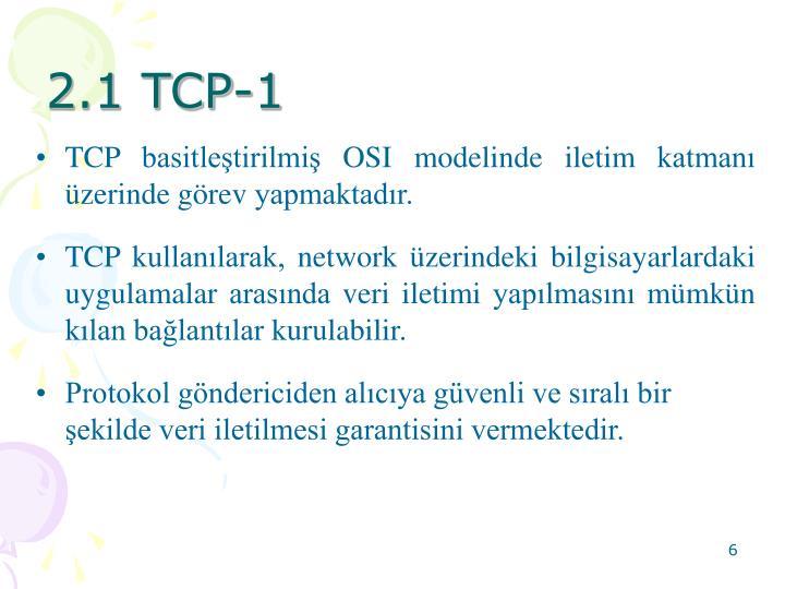 2.1 TCP-1