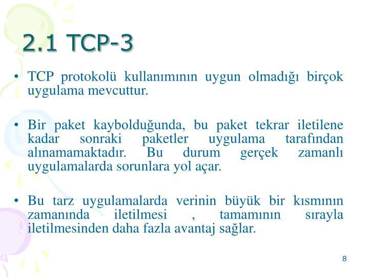2.1 TCP-3