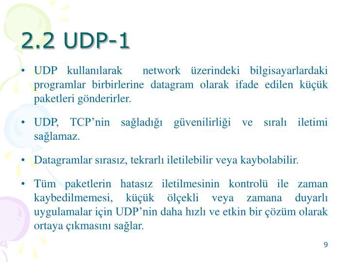 2.2 UDP-1