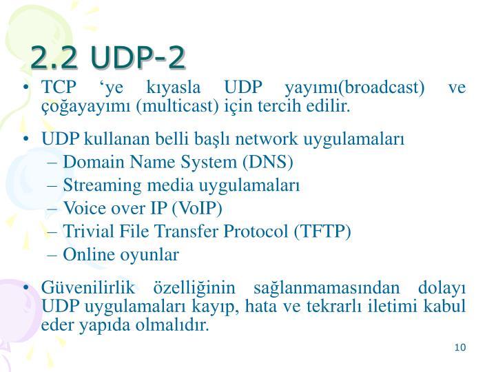 2.2 UDP-2