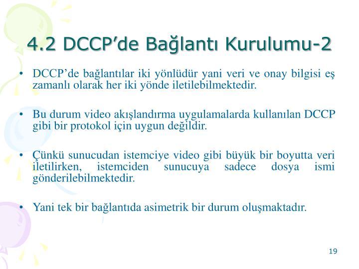 4.2 DCCPde Balant Kurulumu-2