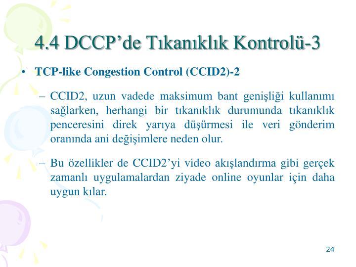 4.4 DCCPde Tkanklk Kontrol-3
