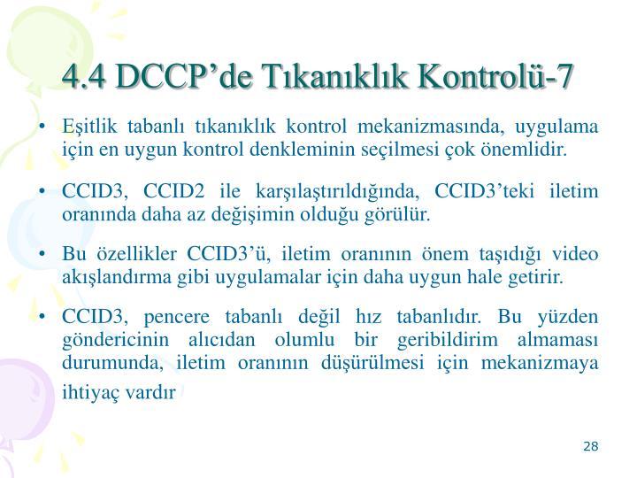 4.4 DCCPde Tkanklk Kontrol-7