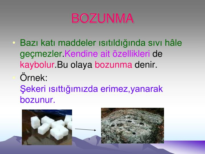 BOZUNMA