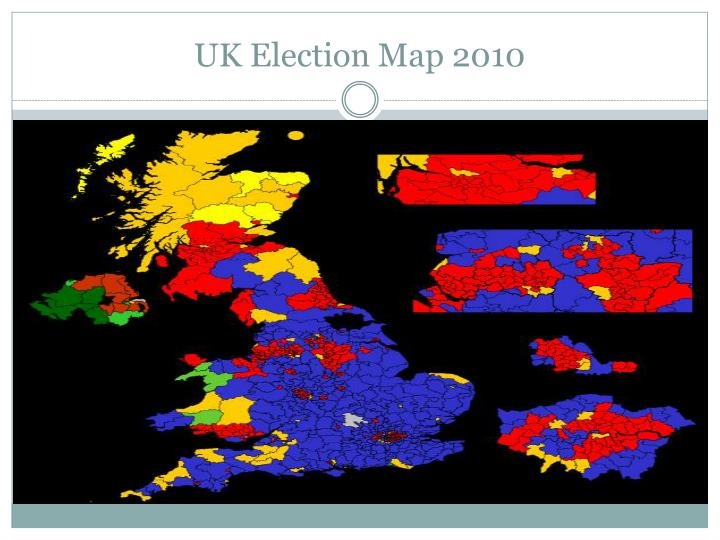 UK Election Map 2010