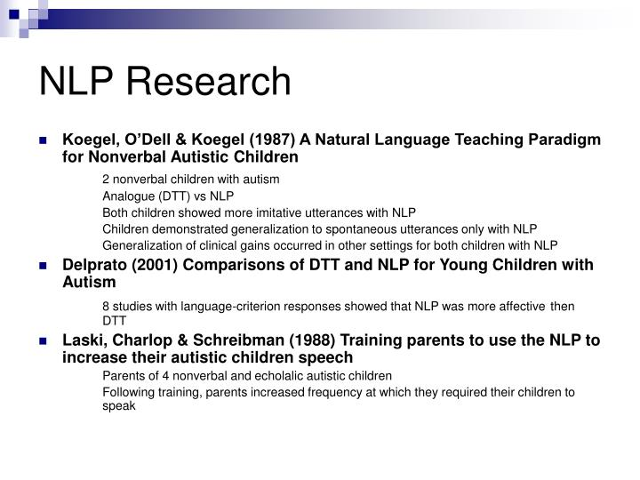 NLP Research