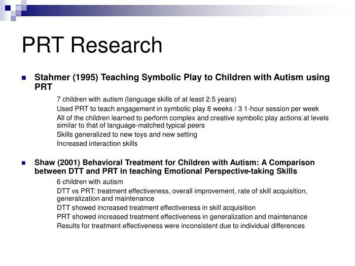 PRT Research