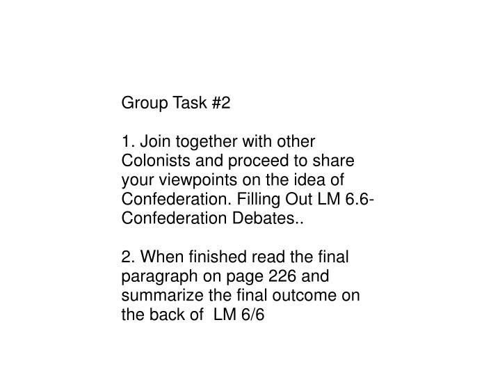 Group Task #2