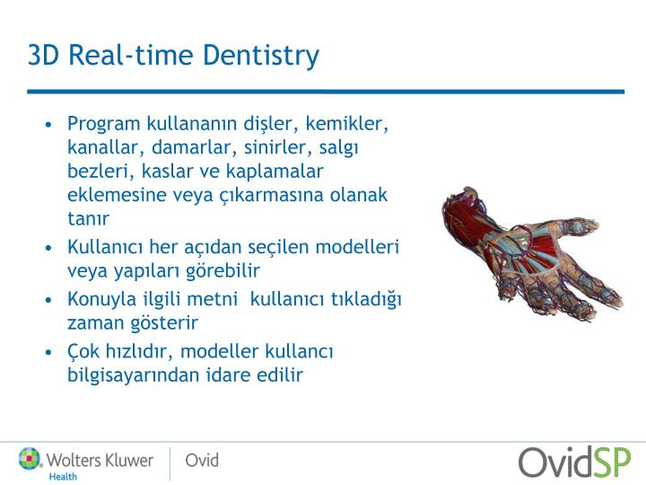 3D Real-time Dentistry