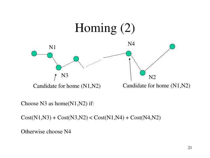 Homing (2)