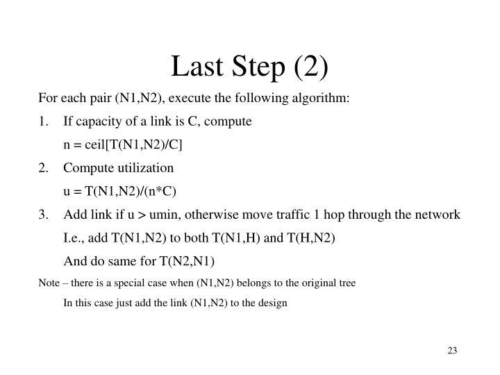Last Step (2)