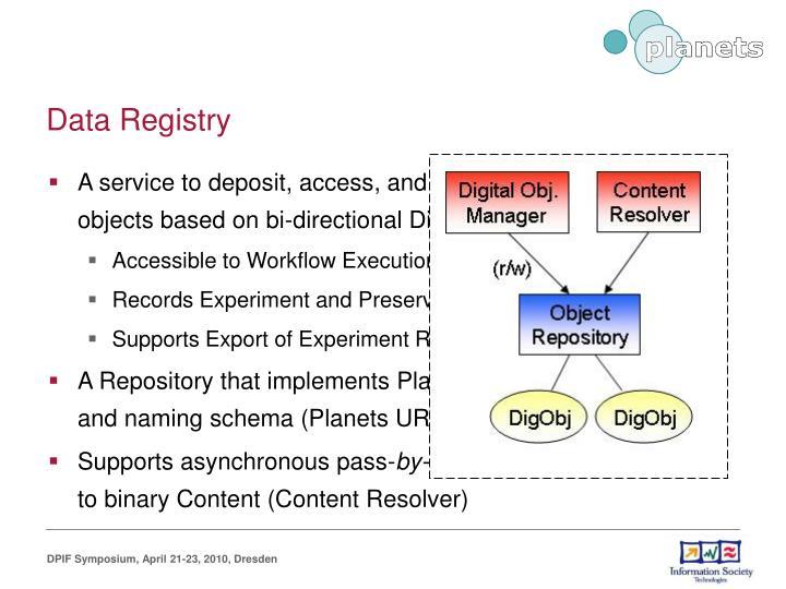 Data Registry
