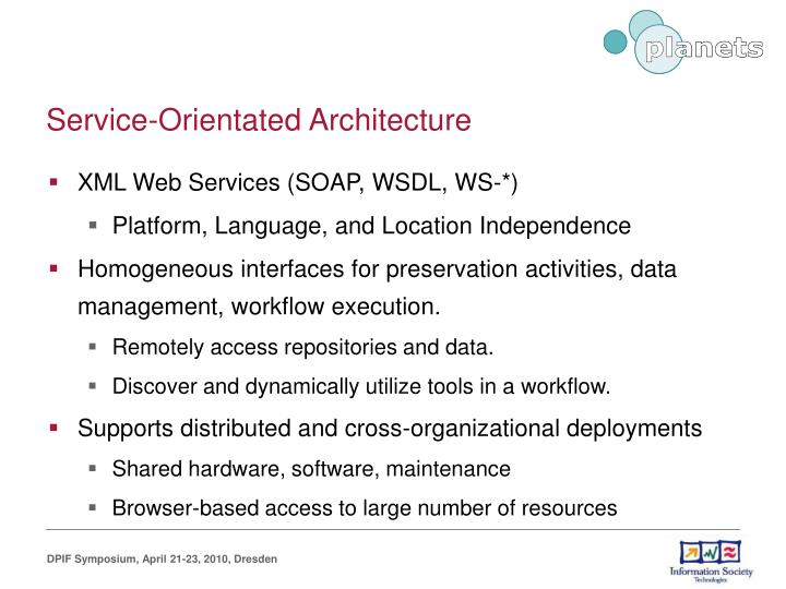 Service-Orientated Architecture