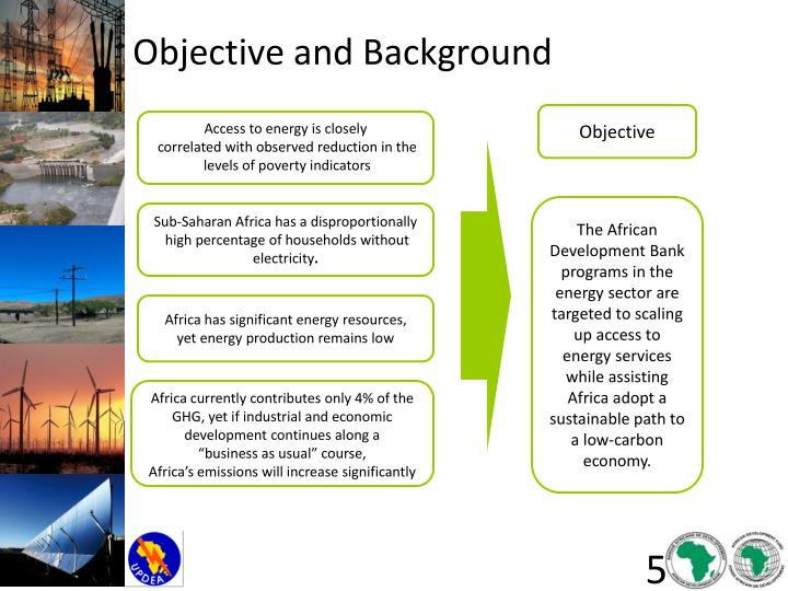 Objective and Background