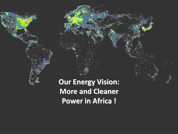 Our Energy Vision: