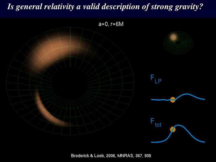 Is general relativity a valid description of strong gravity?