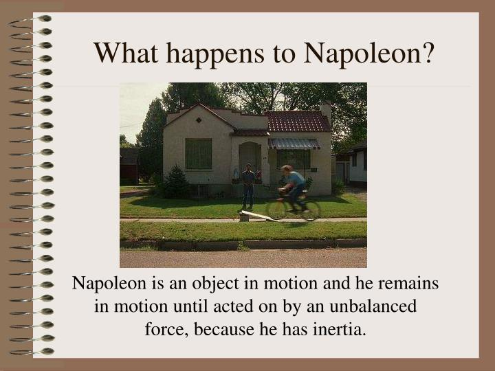 What happens to Napoleon?