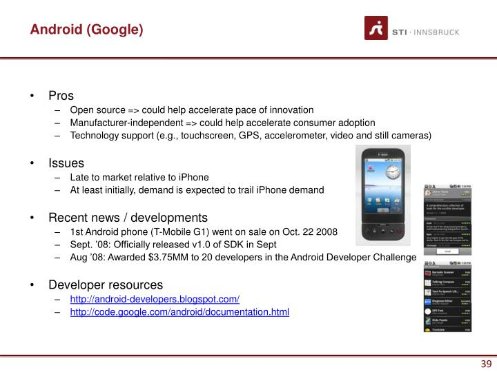 Android (Google)