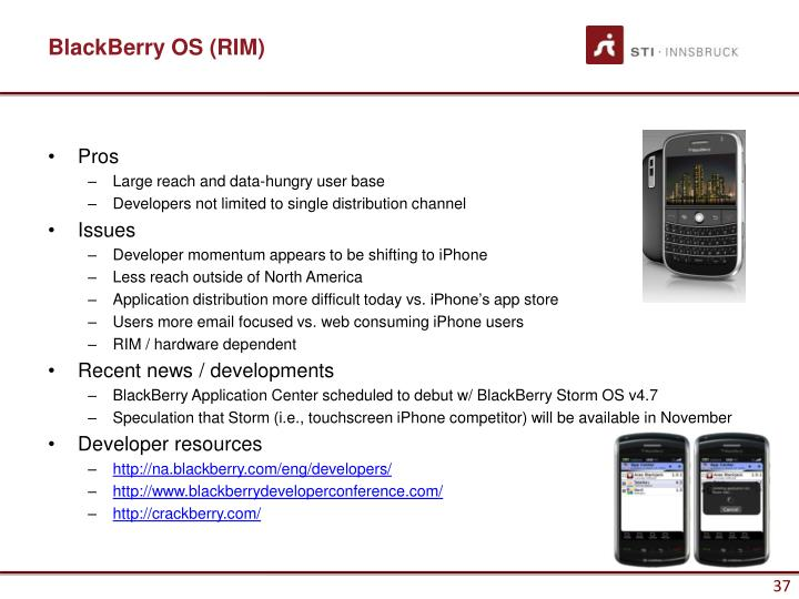 BlackBerry OS (RIM)