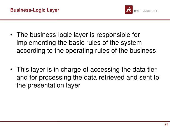 Business-Logic Layer