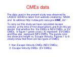 cmes data
