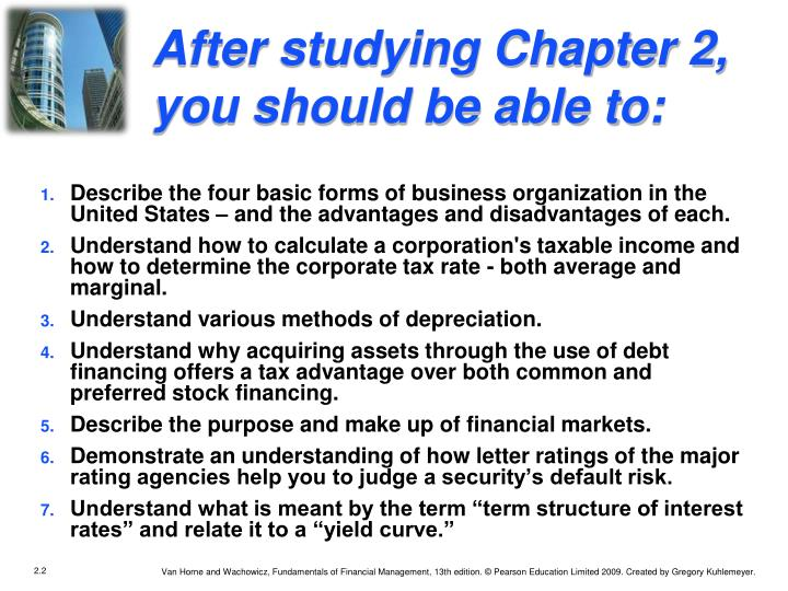 After studying Chapter 2, you should be able to: