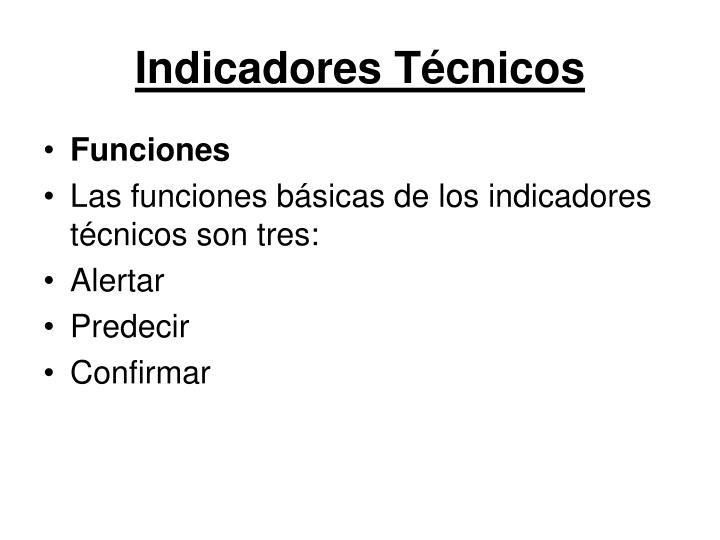 Indicadores Técnicos