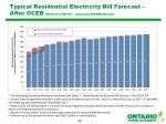 typical residential electricity bill forecast after oceb nominal month assuming 800kwh month