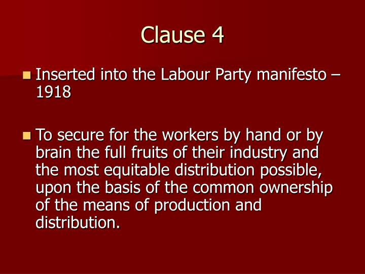 Clause 4