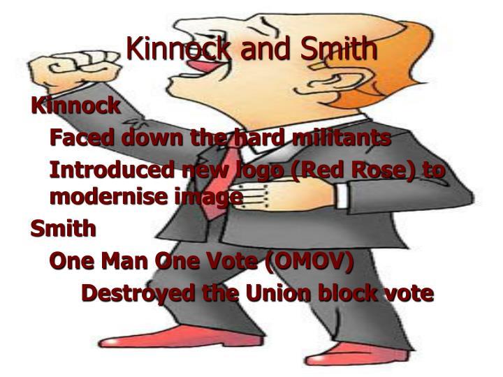 Kinnock and Smith