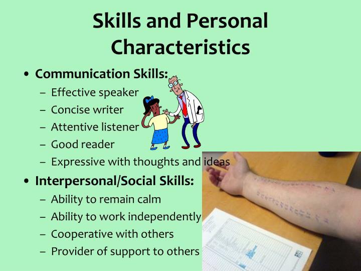 Skills and Personal Characteristics