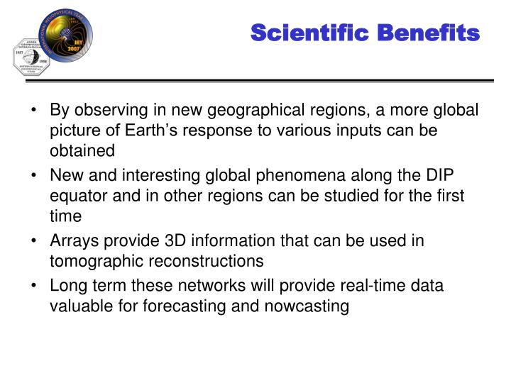 Scientific Benefits