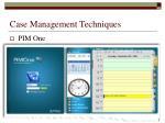 case management techniques10