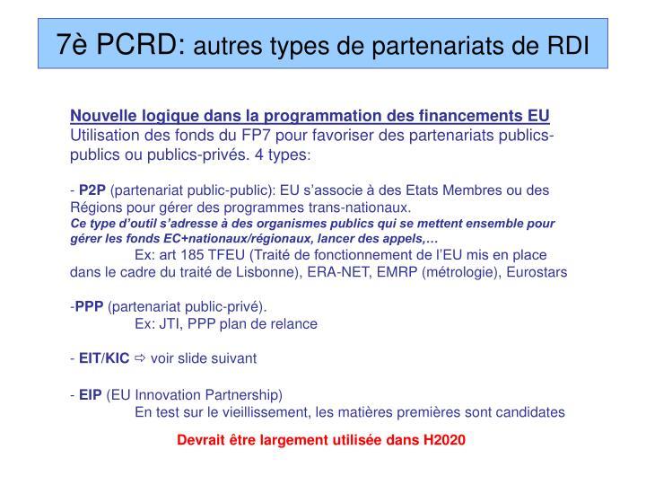 7è PCRD: